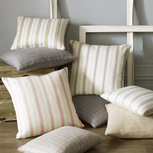 Striped, Dotty, & Checked Cushions
