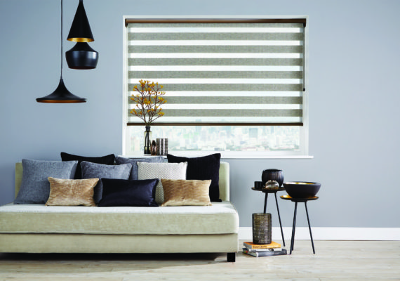 Vision bronze blinds
