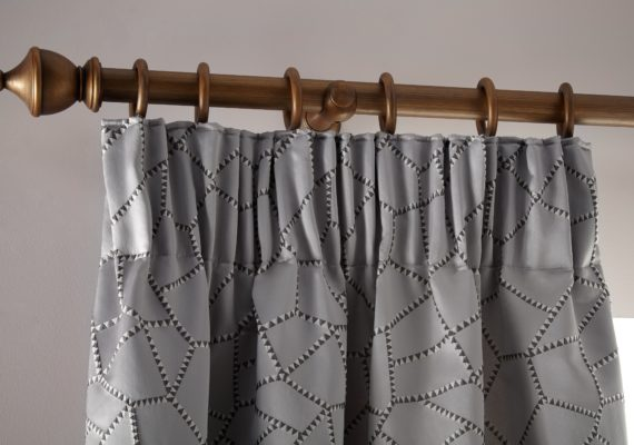 Pencil Pleat Curtains Close Up